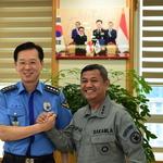 인도네시아 해경 사령관 일행 한국 방문 서해지방해경청 등 교육훈련시설 견학