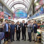 평택시의회, 관내 전통시장 방문 민생현장 채기기 행보