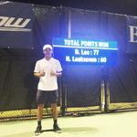 이덕희, ATP 투어 역사상 들어보지 못한 승리
