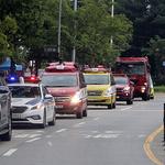 하남소방서-유관기관 합동 소방차 길 터주기 훈련