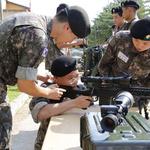 육군 두코대대, 신한대 사이버드론봇군사학과 학생 병영체험훈련 진행