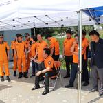 경기도의회 안전행정위원회, 가평소방서 수난구조대 현장 방문