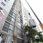 수원 권선구 아파트 환기 구조물  철거 완료…가스공급 재개