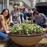 인천 남동구 만수2동,지역 내 6곳 가을맞이 화초 심어