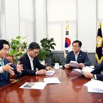 안병용 의정부시장-국토부 제2차관,  '서부로 나들목 개설' 등 현안 논의