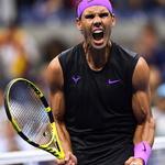 팔뚝 터질 듯이 좋구나… 나달, 3년 연속 US오픈 테니스 4강행