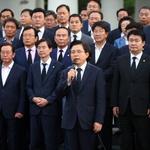 한국당, 비상사태 선언… '정기국회 보이콧' 들어가나